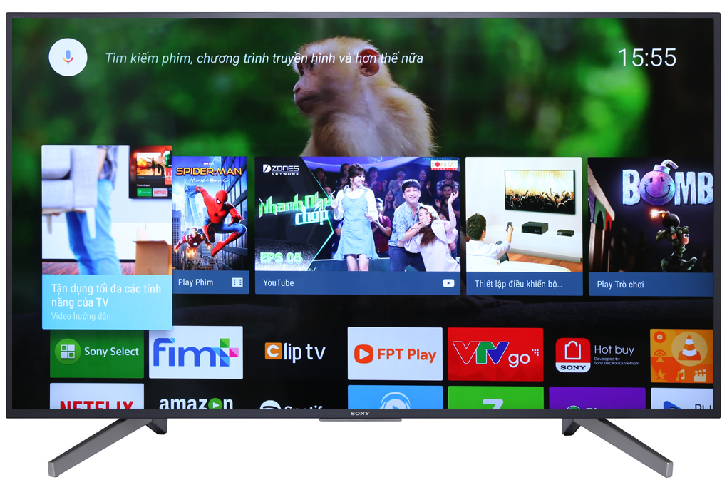 Android Tivi Sony 4K 55 inch KD-55X7500F