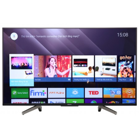 Android Tivi Sony 4K 49 inch KD-49X8500F